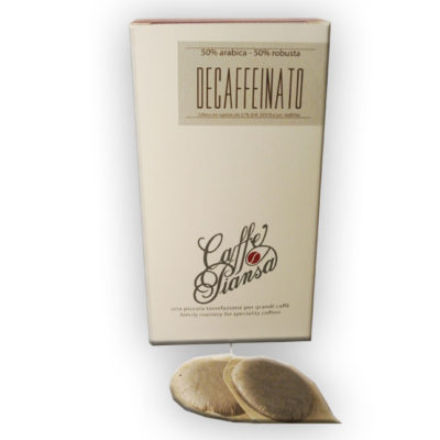 Decaffeinato pods